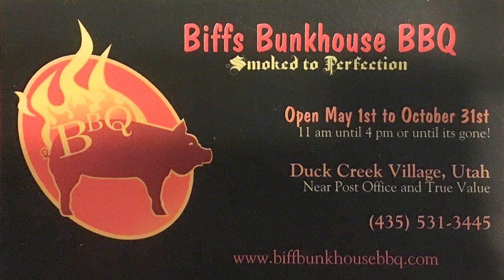 Biffs Bunkhouse BBQ