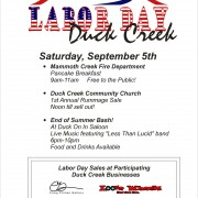 Labor Day Duck Creek